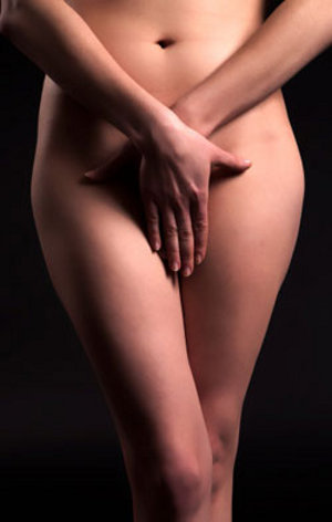woman with brazilian wax